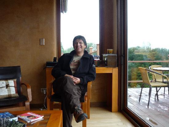 Patagonia House: salon