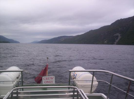 Loch Ness runs from Fort Augustus right through to Inverness.