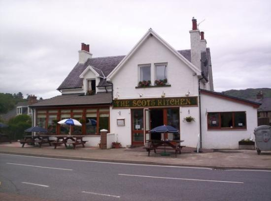 The cafe where I worked at in Fort Augustus.
