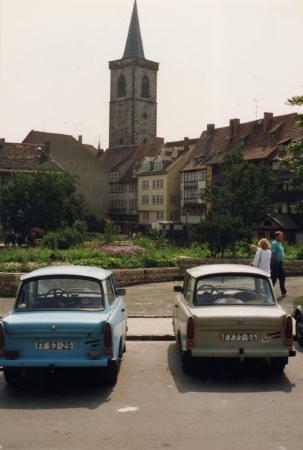 Erfurt 1990 Kramerbrucke