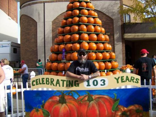 Circleville, Οχάιο: Marty at the pumpkin show