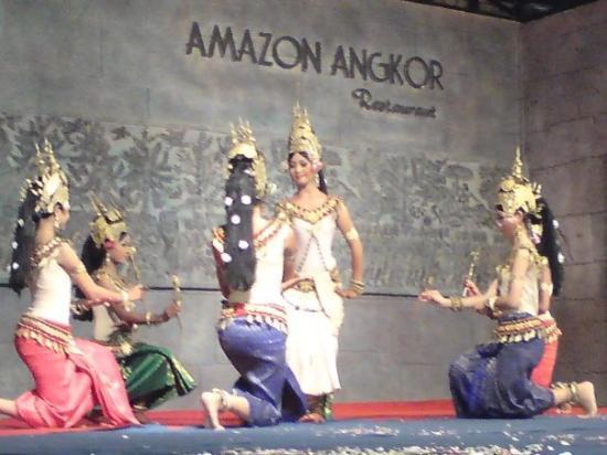 Traditional Khmer Dance at ACODO Orphanage : Apsara Dancers- So Elegant & Beautiful