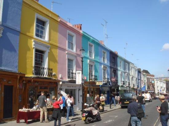 portobello market picture of portobello road market london tripadvisor. Black Bedroom Furniture Sets. Home Design Ideas