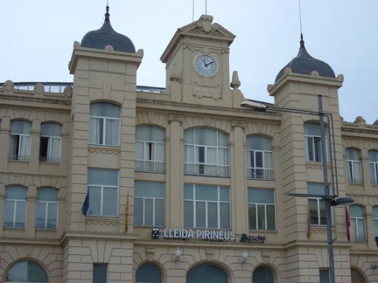 Estacion del ave de Lleida