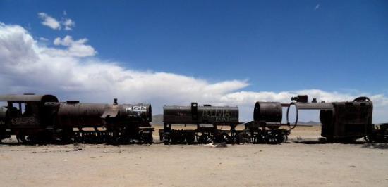 Cementerio de Trenes, Uyuni, Bolivia