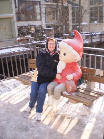 "Janet and the ""sandman"" in Erfurt"