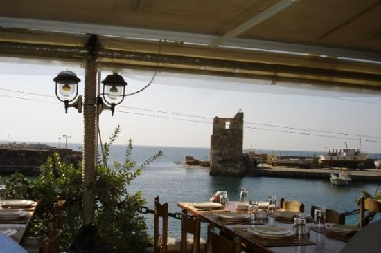 Byblos: View from the lunch spot