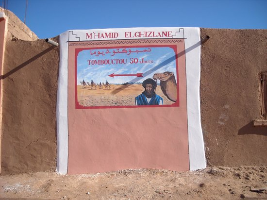 M'Hamid, Morocco: It's a long way to Timbucto!