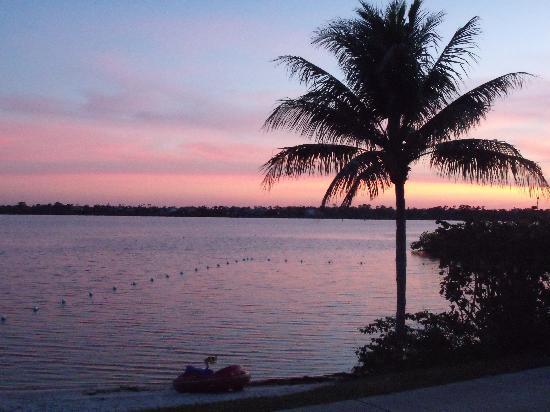 Club Med Sandpiper Bay: Coucher de soleil