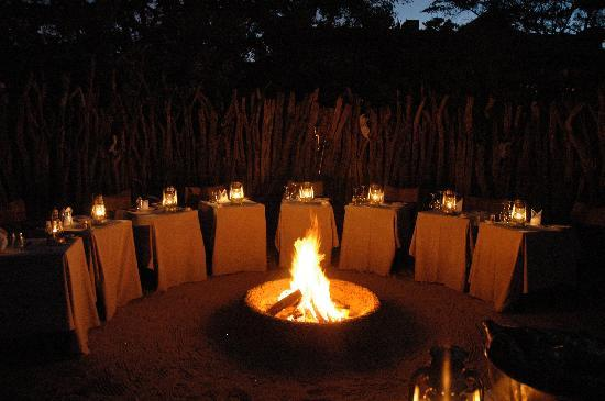 Camp Figtree: Dinner in the burma
