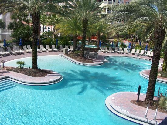 Hammock Beach Resort: One of the swimming pools