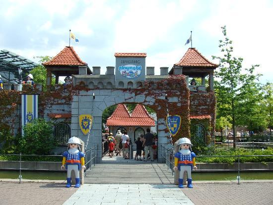 Zirndorf, Germany: The entrance to Playmobil FunPark.