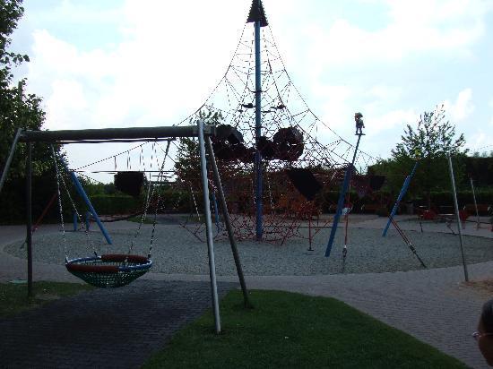 Zirndorf, Germany: A playground.