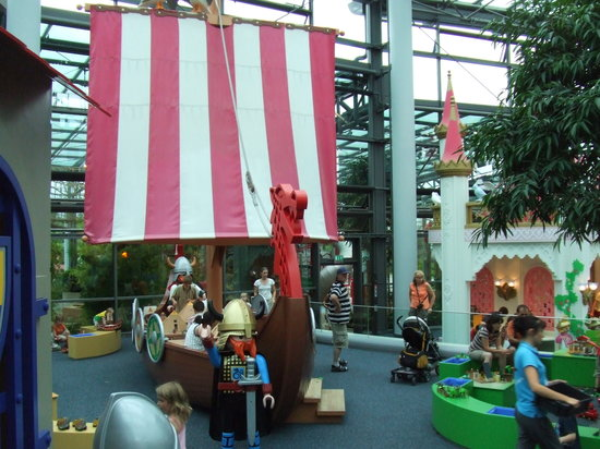 Zirndorf, Germany: The inside area with toys, toys, and more toys.