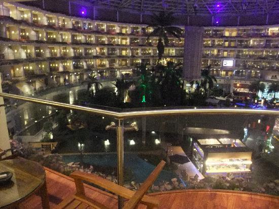 Sahara Star Hotel: テラスからの眺め