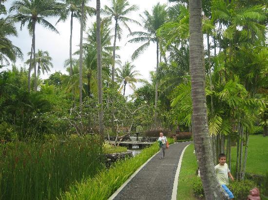 Melia Bali: a little piece of the gardens