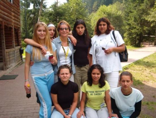 Lunca Bradului, Rumania: My girls at Lunca Bradalui camp
