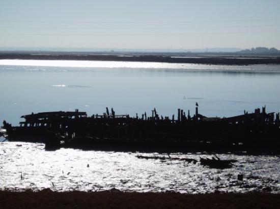 El Puerto de Santa María, España: Vista del Guadalete, cerca del puente de San Alejandro.