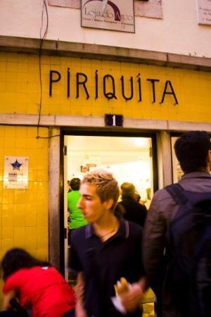 Piriquita II: Piriquita, apparently famous shop
