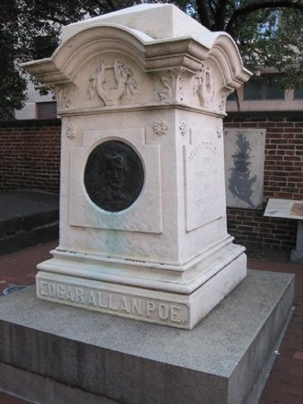 Edgar Allan Poe's Grave Site and Memorial