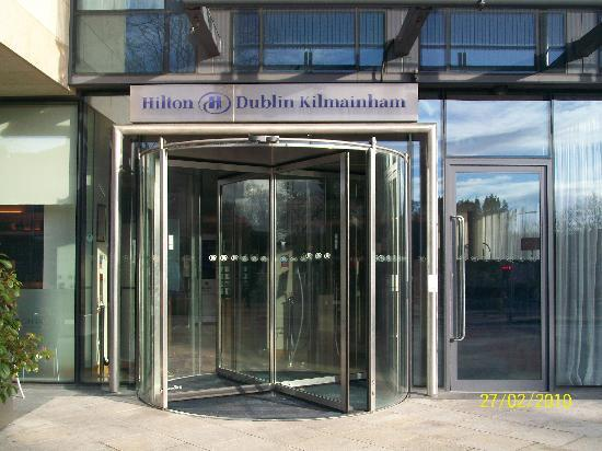 Our room number picture of hilton dublin kilmainham dublin tripadvisor for Hilton kilmainham swimming pool