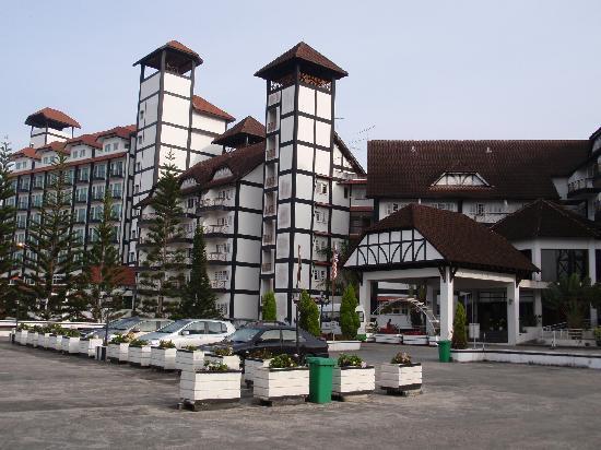 Tanah Rata, Malaysia: Hotel Entrance