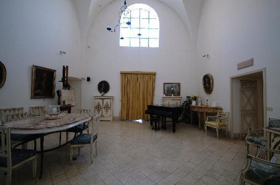 Museo Ignazio Cerio: Salone di ingresso