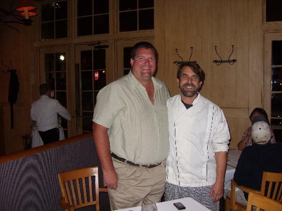 Jackson's Steakhouse: Eric and Chef Irv Miller at Jackson's