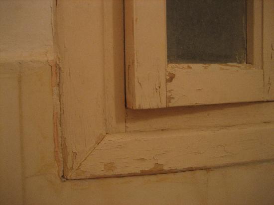Tata, Morocco: Fenêtre de la salle de bains ou des wc.