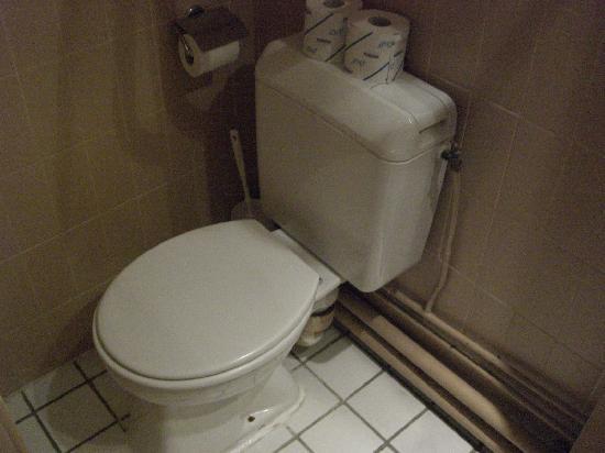 Victoria Hotel: トイレ。流れは良かったです。