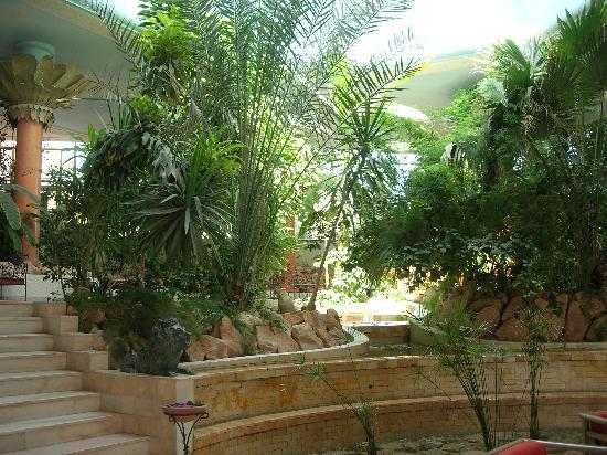 Palm Beach Palace Tozeur : Le hall de l'hôtel