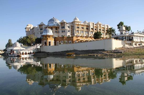 The Leela Palace Udaipur: on arrival from the hotel