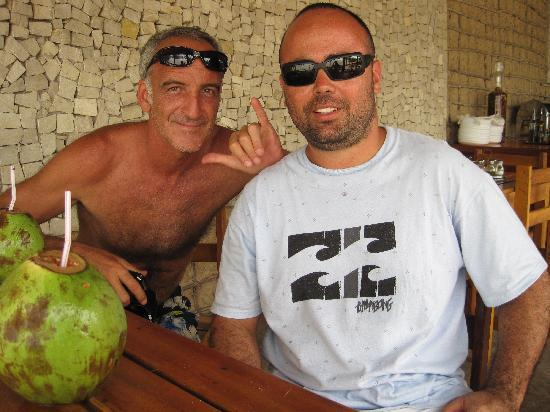 Pousada Dos Corais : Club Ventos - Flávio e Walter