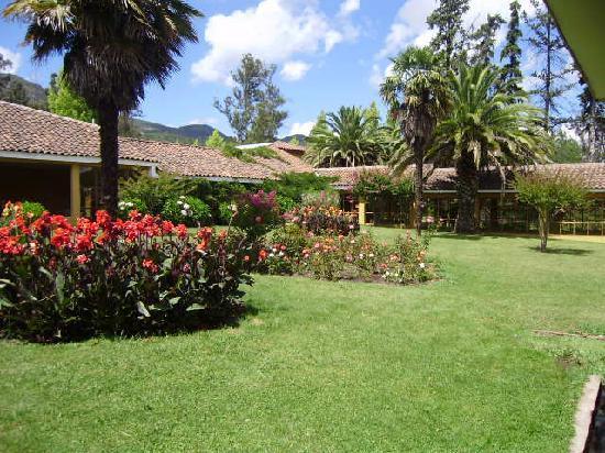 Termas de Quinamavida : Jardines