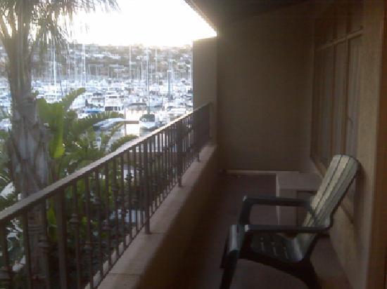Best Western Plus Island Palms Hotel & Marina: balcony in 508