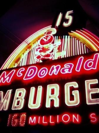 The Henry Ford: Vintage McDonald's neon sign.
