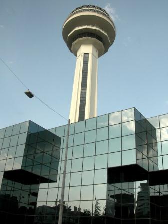 Ankara - Torre de Atakule (restaurante rotativo)