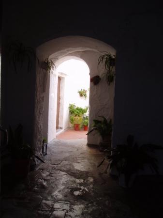 Casa de Arcos de la Frontera en el Barrio Alto.