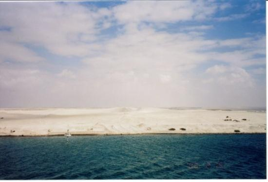 Suez, Egypt: White Sands of Egypt