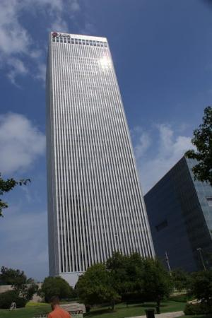 The BOK Tower - Downtown Tulsa