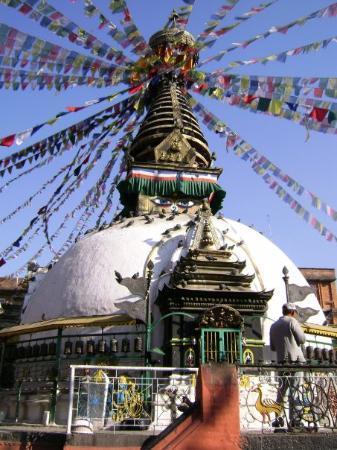 Durbar Torg - Kathmandu: une stupa au centre de kathmandu