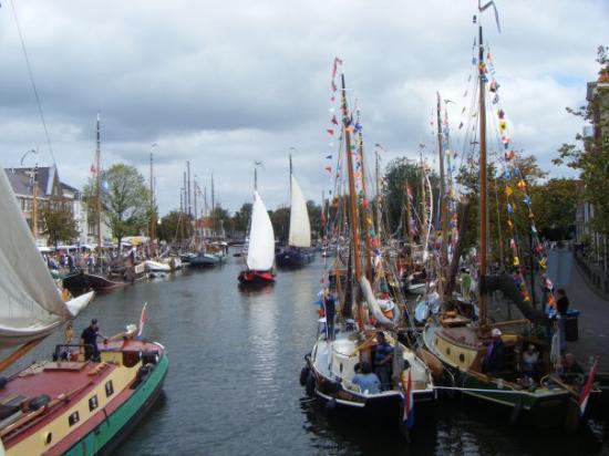 Haarlem, Hollanda: Het Spaarne