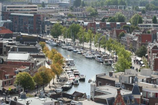 Haarlem, The Netherlands: seen from the church Het Spaarne