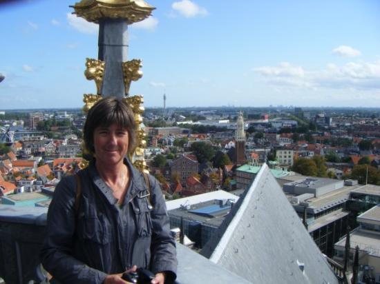 Haarlem, Nederland: made it to the top