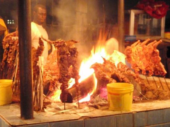 Abuja, Nigeria: Local chicken...great flavor, good price