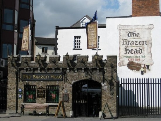 The Brazen Head: oldest pub...with the rudest staff