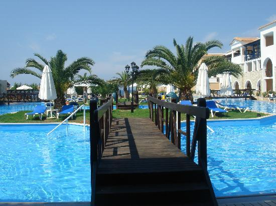 Skafidia, Grecja: una delle tante piscine