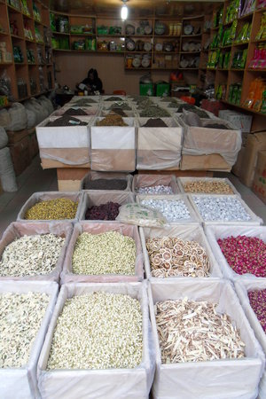 Yunnan Wholesale Tea Market: Many different kinds of tea