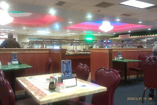 Buffet City: interior