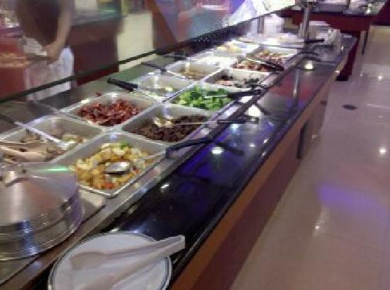 Buffet City: one of the stations of food